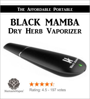 Black Mamba Vaporizer from Namaste Vapes
