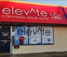 Elevate Cannabis Co – 118 Avenue, Edmonton