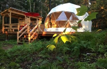 Belleisle Bayview Retreat Cannabis Friendly Yurt