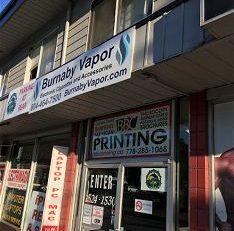 Burnaby Vapor – Port Coquitlam