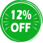12% OFF YOUR FIRST ORDER